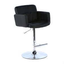 Limpley Stoke Adjustable Height Swivel Bar Stool with Cushion