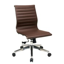 Lower Shockerwick Mid-Back Leather Conference Chairs