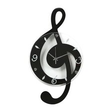 Lulsgate Musical Clef Wall Clock