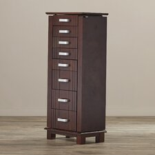 Clifton Jewelry Armoire with Mirror