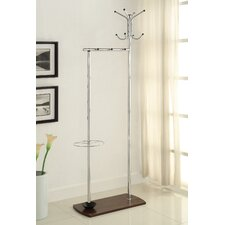 Home And Office Solutions Solid Wood Coat Rack