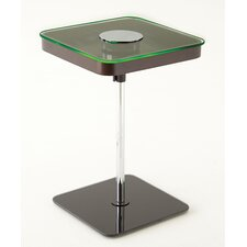 Charo Square End Table with LED Light