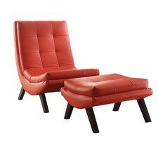 Dmitri Lounge Chair and Ottoman Set