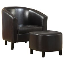 Dorrit Chair and Ottoman Set