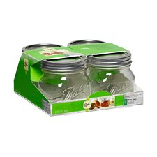 Ball Elite 16-Ounce Jar (Set of 4)