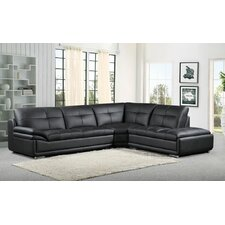 3 Piece Leather Sectional