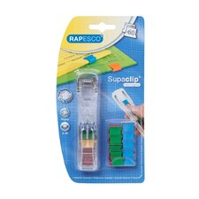 Supaclip® See Through Dispenser and 25 Clips