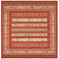 Nomad Rust Red Area Rug