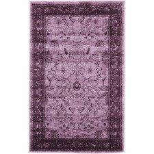 La Jolla Purple Area Rug