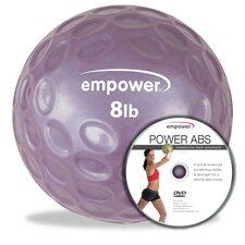 Fingertip Grip Medicine Ball with DVD