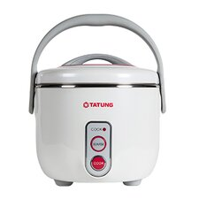 3-Cup Multifunction Indirect Heat Rice Cooker Steamer and Warmer