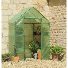 2.5 Ft. x 4.8 Ft. Compact Walk In Greenhouse