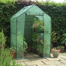 4.1 Ft. x 6.3 Ft. High Walk-In Greenhouse