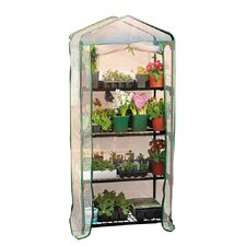 4 Tier 2.3 Ft. x 1.6 Ft. Mini Greenhouse
