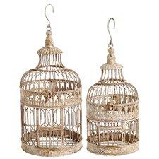 2 Piece Bird Cage Set