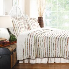 Ruffle Coverlet Set