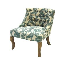 Ikat Slipper Chair