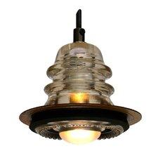 """Insulator light Pendant Metal ring 5"""", 20V 40W, dimming"""