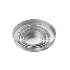 Round Aluminum 4 Piece Bakeware Set