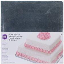 2 Piece Cake Base Set