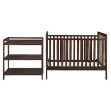 Ryder 3-in-1 Convertible 2 Piece Crib Set