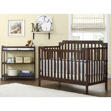 Kypton 3-in-1 Convertible 2 Piece Crib Set