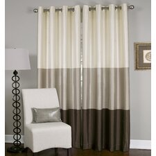 Trio Chic Window Curtain Panel