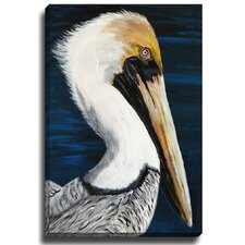 Crane by Patch Wihnyk Painting Print on Canvas