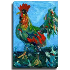 Rooster by Patch Wihnyk Painting Print on Canvas