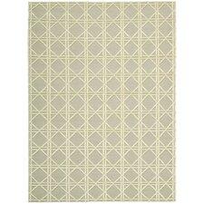 Silken Textures Light Gray Area Rug