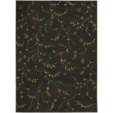 Modern Elegance Black/Teal Rug