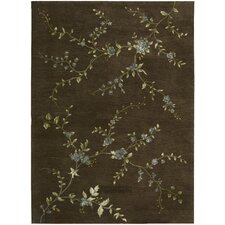 Modern Elegance Brown Rug