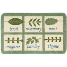 """Décor Beige """"Cooking Spices"""" Area Rug"""