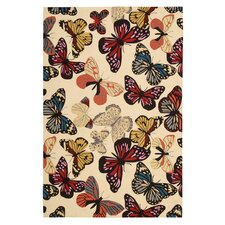 Fantasy Butterfly Area Rug