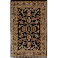 India House Black/Brown Area Rug