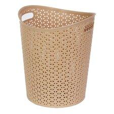 Rattan Plastic Waste Basket