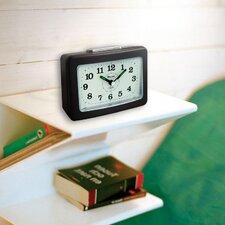 Quake Rectangular Analog Alarm Clock