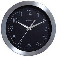 "9"" Metal Frame Wall Clock"