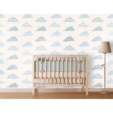 Clouds Panel Wallpaper