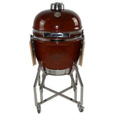 """KAMADO 19"""" Charcoal Grill with Cart"""