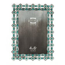 Armitage Metal with Diamond Shaped Jewels Picture Frame