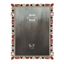 Armitage Metal with Drop and Square Shaped Jewels Picture Frame