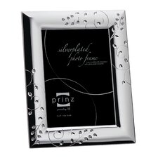 Whitley Silverplated Metal with Jewels Picture Frame
