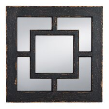 Decorating your home with square wall mirrors is a fun and easy way to add accent color and bring ambient lighting into your home. You can batch square mirrors together to create stylish wall art or select a large mirror on its own to attract attention. Select a simple or ornate frame from our collection of decorative square mirrors in order to add your own style. square mirrors add timeless appeal to your décor and square wall mirrors create different planes in your home décor. Square mirrors provide a welcoming and elegant feel above your mantel and can be used together to create stylish geometric patterns in your living room or bedroom. You can cluster square mirrors together to bring a modern feel to your home. The straight lines from square mirrors can help you bring life and energy into any space.