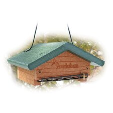 Audubon Going Upside Down Suet Decorative Bird Feeder