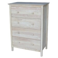 Shaker Style 4 Drawer Chest