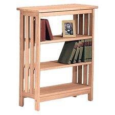"Unfinished Wood Mission 36"" Standard Bookcase"