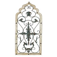 Filigree Design Window Wall Decor