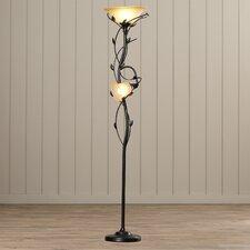 Arla 2 Light Torchiere Floor Lamp