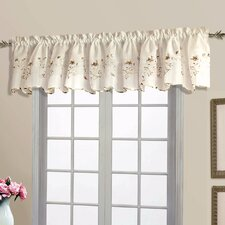 "Cherry 52"" Curtain Valance"